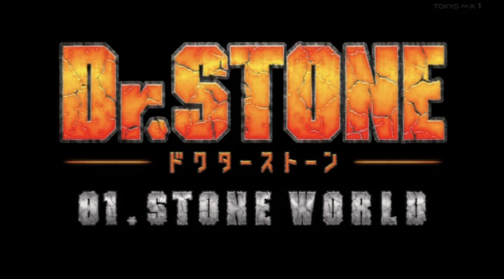 Dr.STONE 1話